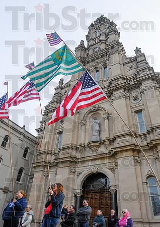 MET 012117 FLAGS CHURCH