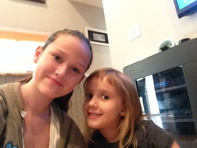Jolie's iPod selfies