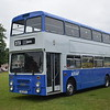 Preserved Derby City Transport Northern Counties Volvo Citybus E153BTO at the Alton running day.