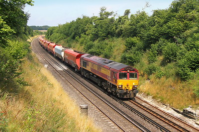 66106 Popham 25/07/17 6Z60 Grain Foster Yeoman to Eastleigh Aggregate Sidings