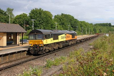 66849 Micheldever 23/07/17 6N02 Shacklegate Junction to Eastleigh