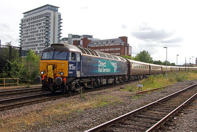 57303 Basingstoke 20/07/17 5Z40 Eastleigh to Kidderminster