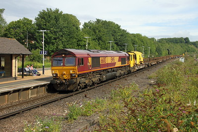 66013 Micheldever 23/07/17 6N04 Wimbledon West Junction to Eastleigh