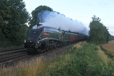60009 Micheldever 23/07/17 1Z56 Weymouth to London Paddington (its a shame it stopped for water at Eastleigh rather than Basingstoke as 25 minutes earier it would have passed in perfect light)