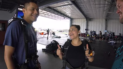 1612 Mayra Lopez Skydive at Chicagoland Skydiving Center 20170704 Eric Eric