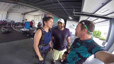 1146 Swathi Choppalli  Skydive at Chicagoland Skydiving Center 20170704 Brad Brad