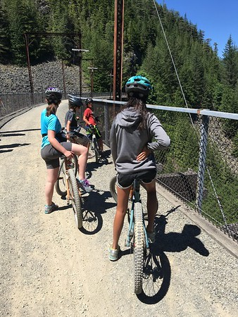 Biking the Iron Horse Trail