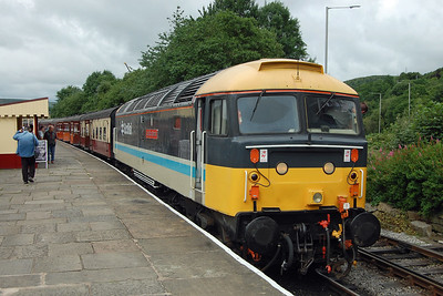 47712 is pictured on arrival at Rawtenstall with 1G51 0920 from Bury on the first day of the East Lancashire Railway's Diesel Gala (07/07/2017)