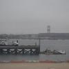 The East River docks at New York LaGuardia Airport.