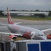 Jet2 Boeing 737-800 G-JZHR at Birmingham Airport, a new location for the northern budget carrier.