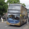 Stagecoach Gold ADL Enviro 400 VX59JCZ 15535 (missing its fleet number) in Witney on the S1 to Carterton.