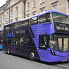 Oxford Bus Company Park & Ride branded Wright Streetdeck SK66HVB 677 at St. Mary's on the 300 to Pear Tree.