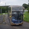 Stagecoach Gold ADL Enviro 400 VX59JCZ 15535 (missing its fleet number) leaving Eynsham on the S1 to Carterton.