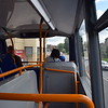 Stagecoach ADL Enviro 400 MMC SN16OYZ 10667 interior in Bicester on the S5 gold service to Oxford.