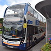 Stagecoach ADL Enviro 400 MMC SN16OYZ 10667 in Bicester on the S5 gold service to Oxford.