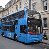 "Oxford Bus Company ""City 2"" branded ADL Enviro 400 SF10OXF 227 at St. Mary's."