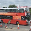 Wessex Bus Volvo Wright Eclipse Gemini BJ14KTA 40626 in Bicester on the park and ride shuttle.