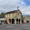 Witney Market Square and Town Hall.