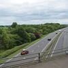 The A34 from the Kidlington junction.