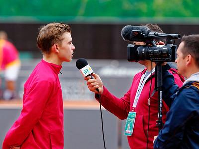 01.03f Interview - Team Czech Republic - Junior Davis and Fed Cup Finals 2017