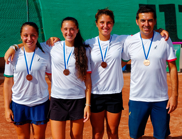 01.04 3rd place - Team Italy - Junior fed cup european final round girls 16 years and under 2017