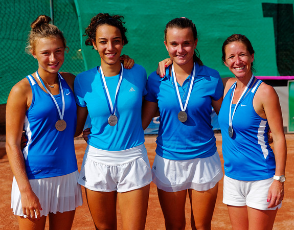 01.04a Finalists - Team France - Junior fed cup european final round girls 16 years and under 2017