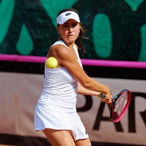 01.01a Kamilla Rakhimova - Team Russia - Junior fed cup european final round girls 16 years and under 2017
