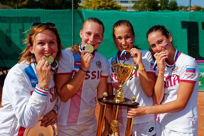 01.04b Winner - Team Russia - Junior fed cup european final round girls 16 years and under 2017