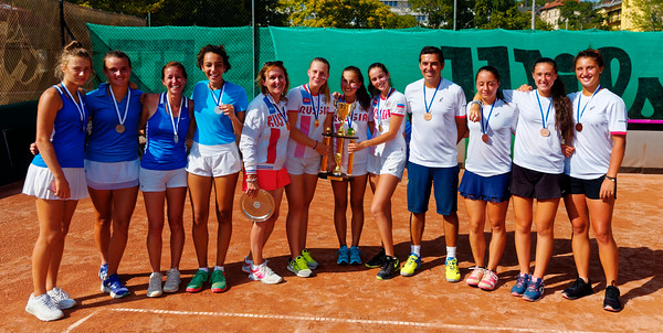 01.04c Teams - Junior fed cup european final round girls 16 years and under 2017
