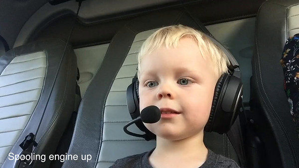 Kayden First Helicopter Ride