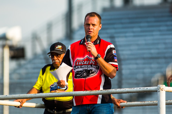 Lucas Oil Late Model Dirt Series Series Director Rick Schwallie