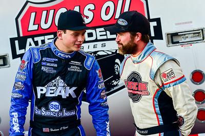 Hudson O'Neal (L) and Gregg Satterlee (R)
