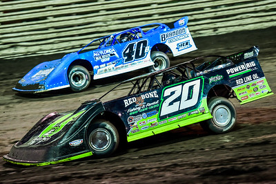 Jimmy Owens (20) and Kyle Bronson (40B)
