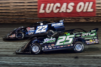 Chad Simpson (25) and Gregg Satterlee (22)