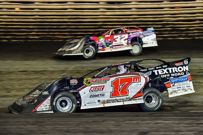 Dale McDowell (17M) and Bobby Pierce (32)