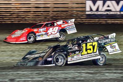 Mike Marlar (157) and Jonathan Davenport (49)
