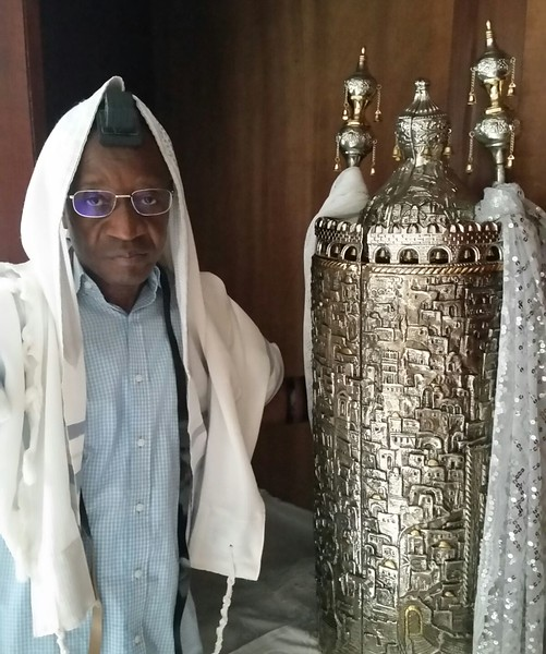 Hazzan Avi Yago, Cote d'Ivoire by Rabbi Elie Lehmann.
