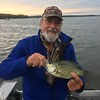 DENNIS BREUCKAN SHOWS OFF A NICE CRAPPIE