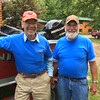 DOUG AND DENNIS BREUCKMAN AT ANDERSON'S COVE RESORT