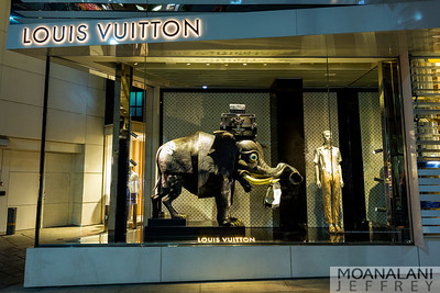 LOUIS VUITTON RODEO DRIVE: JANUARY WINDOWS