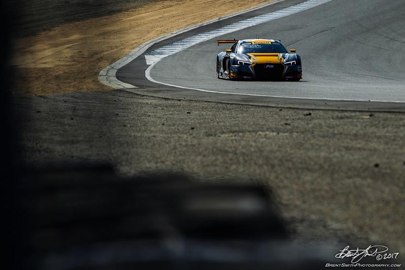 California 8 Hours - Intercontinental GT Challenge - Mazda Raceway Laguna Seca - 11 WRT, Robin Frijns, Stuart Leonard, Jake Dennis, Audi R8 LMS