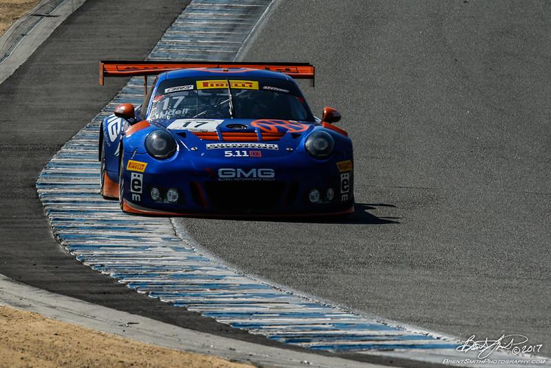 California 8 Hours - Intercontinental GT Challenge - Mazda Raceway Laguna Seca - 17 HKG Racing / GMG, Alec Udell, Wolf Henzler, Porsche 991 GT3-R