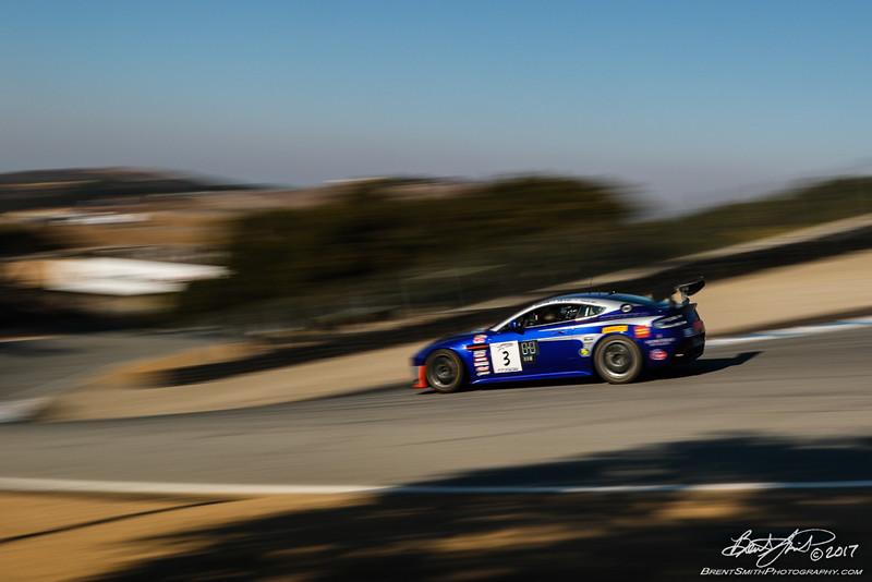 California 8 Hours - Intercontinental GT Challenge - Mazda Raceway Laguna Seca - 3 TRG, Craig Lyons, Kris Wilson, Thomas Merril, Aston Martin GT4