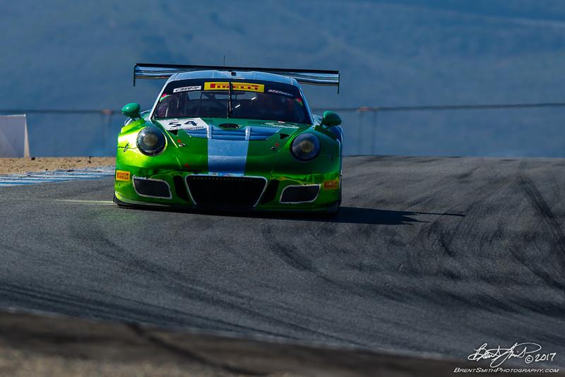 California 8 Hours - Intercontinental GT Challenge - Mazda Raceway Laguna Seca - 54 Black Swan Racing, Tim Pappas, Jeroen Bleekemolen, David Calvert-Jones, Porsche 991 GT3-R