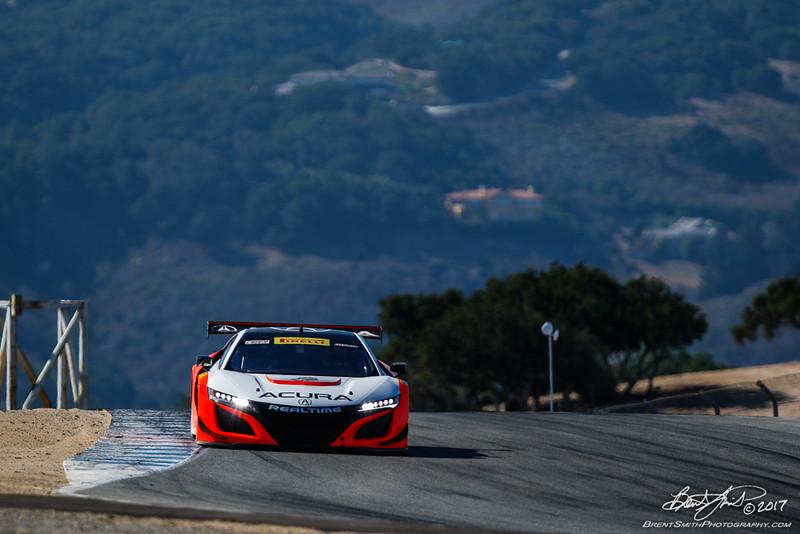 California 8 Hours - Intercontinental GT Challenge - Mazda Raceway Laguna Seca - 43 RealTime Racing, Ryan Eversley, Tom Dyer, Dane Cameron, Acura NSX GT3