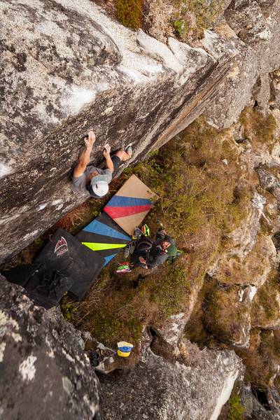 Noah makes quick work of this V5.
