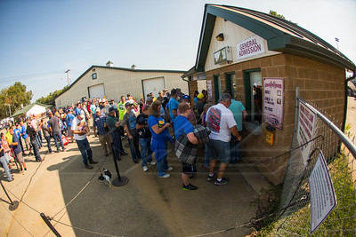 Lawrenceburg Speedway fans in line to buy tickets