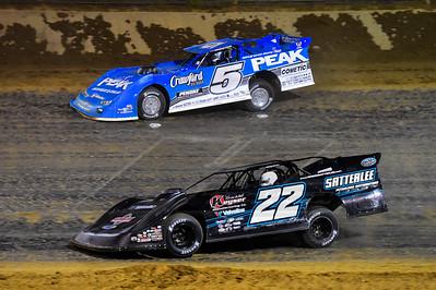 Gregg Satterlee (22) and Hudson O'Neal (71)