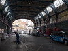 Smithfield Market, Clerkenwell, cleaning up