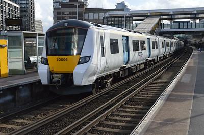 700002 seen at East Croydon.
